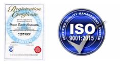ISO9001証明(工場)